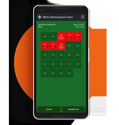 Meeting Room Standalone App